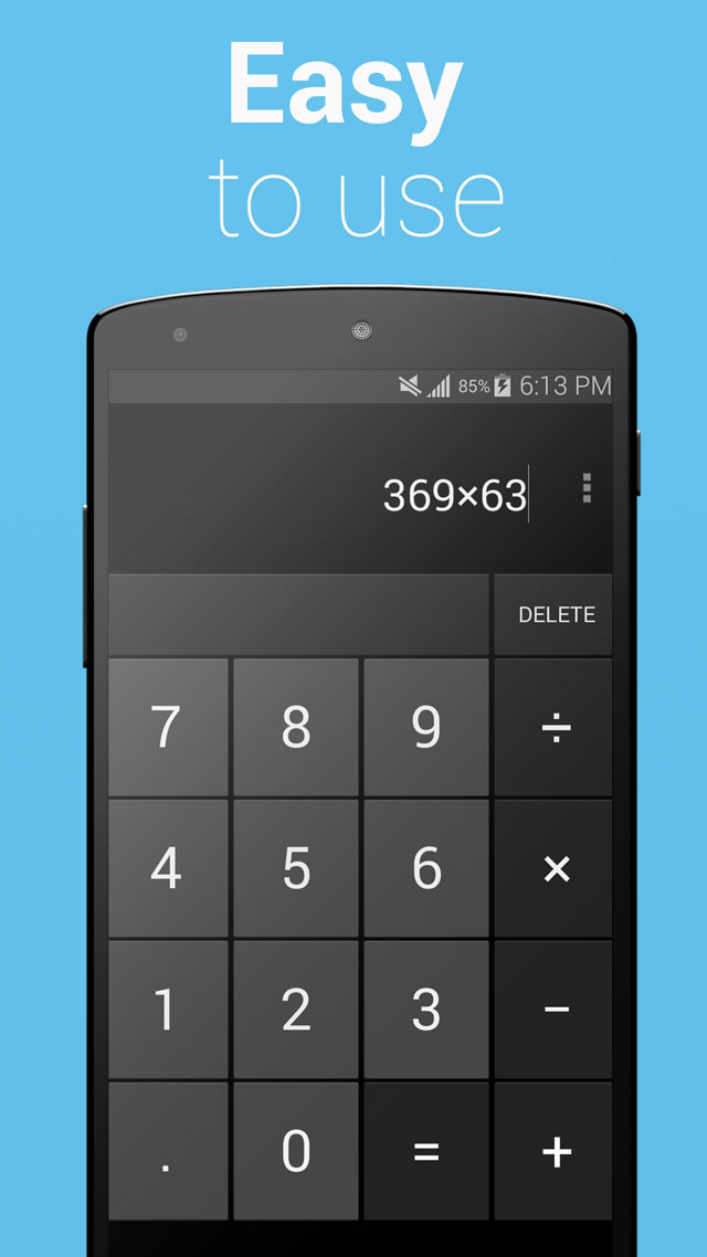 Calculator Google Play App